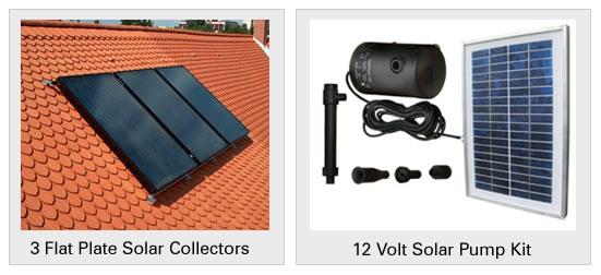 Flat Plate Solar Collectors Geyser Heating